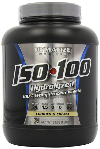 Dymatize ISO100 Cookies & Cream 3 lb (1.4 kg)