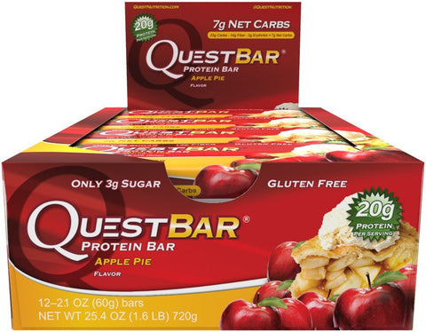 Quest Nutrition Quest Protein Bar Apple Pie 12-2.12 oz (60g) Bars
