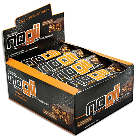 NoGii NoGii Super Protein Bar Chocolate Peanut Butter Crisp 12-3.4 oz (94g) Bars