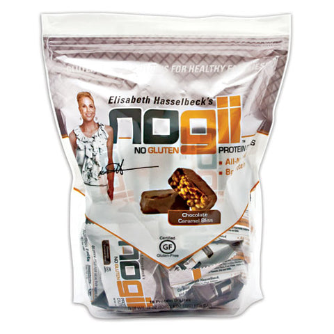 NoGii Protein D'Lites Chocolate Caramel Bliss 18 - 1oz (28g) Bars