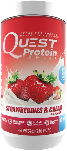 Quest Nutrition Quest Protein Powder Strawberries & Cream 2 lbs