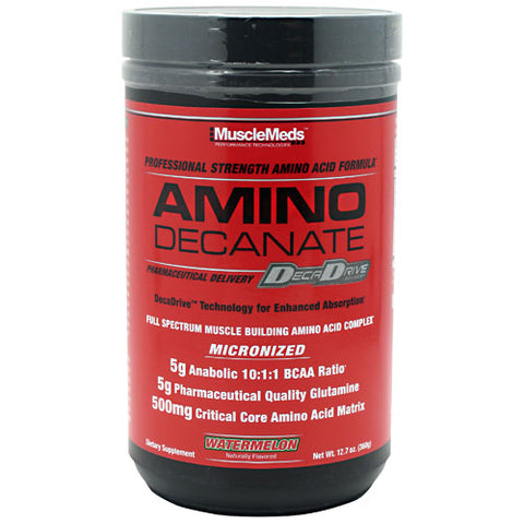 Muscle Meds Amino Decanate Watermelon 12.7 oz (360g)