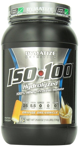 Dymatize ISO100 Orange Dreamsicle 1.6 lb (725 g)