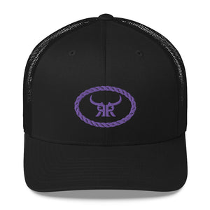 Tied up Purple Mesh Snap back (5 Colors)