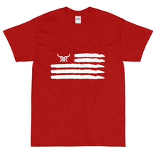 Load image into Gallery viewer, 'Merica Short Sleeve White Up to 5XL (13 colors)