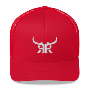 R&R Icon Mesh Snapback White (8 colors)