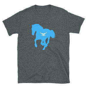 Wild and free short sleeve blue (5 Colors)