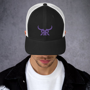 R&R Icon Mesh Snap Back Purple (5 Colors)