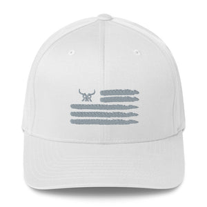 'Merica Flexfit Silver (5 Colors)