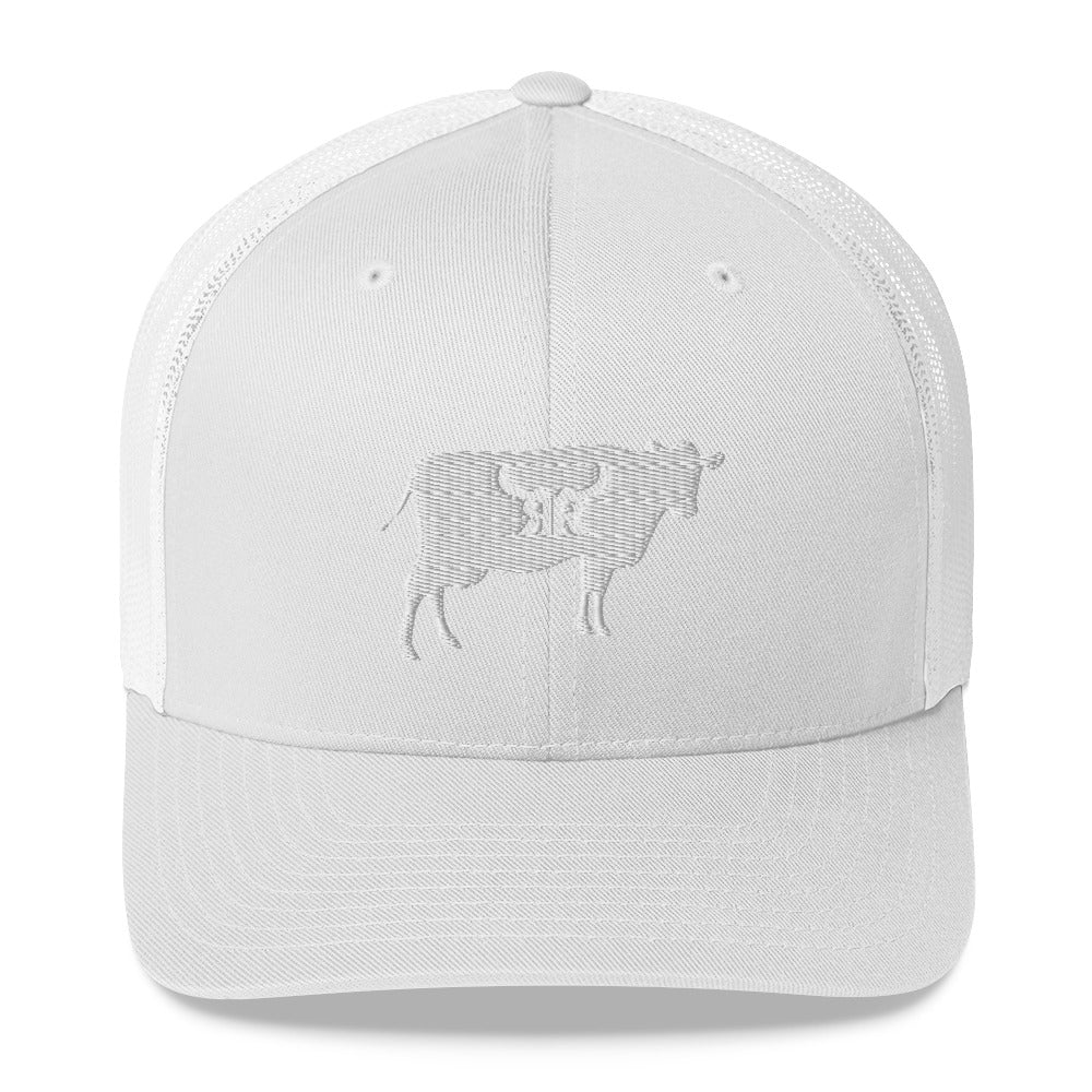 Beef master white mesh snap back (5 colors)