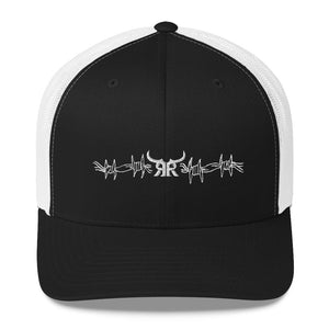 Wired up white mesh snap back (9 colors)