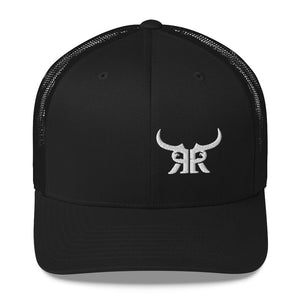 Offset white icon mesh snap back (9 colors)
