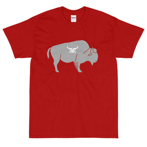 """Bully"" Short Sleeve Gray Up to 5XL (12 colors)"