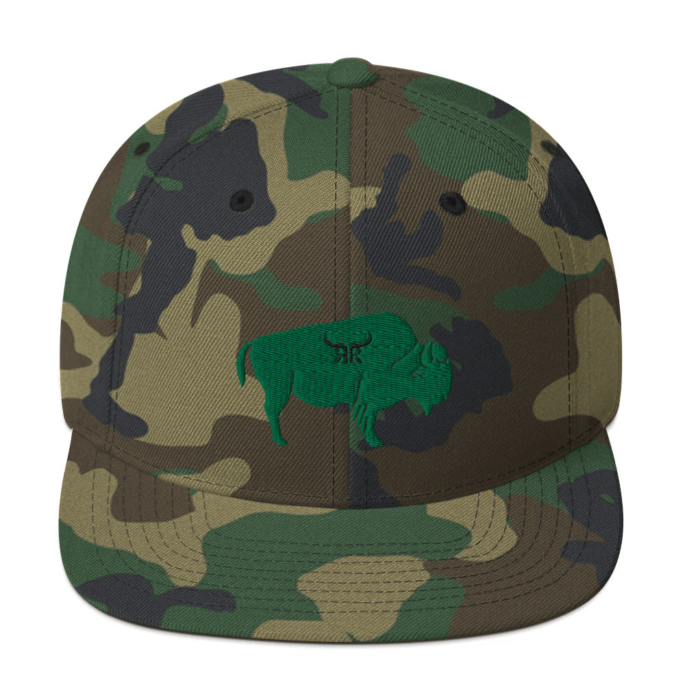 Bully Full Back Snapback Camo