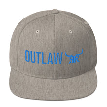 Load image into Gallery viewer, Outlaw Blue Full Back Snapback Hat (9 colors)