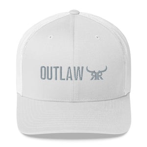 Outlaw silver mesh snapback (3 colors)