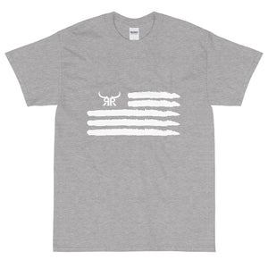 'Merica Short Sleeve White Up to 5XL (13 colors)