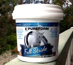 Full Stride Bottle- Complete Care Horse Supplements from Whole Equine