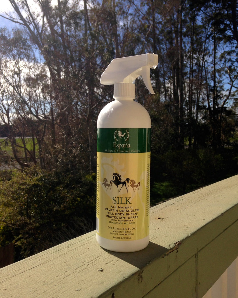 Silk Protein Detangler Natural Grooming Horses Whole Equine
