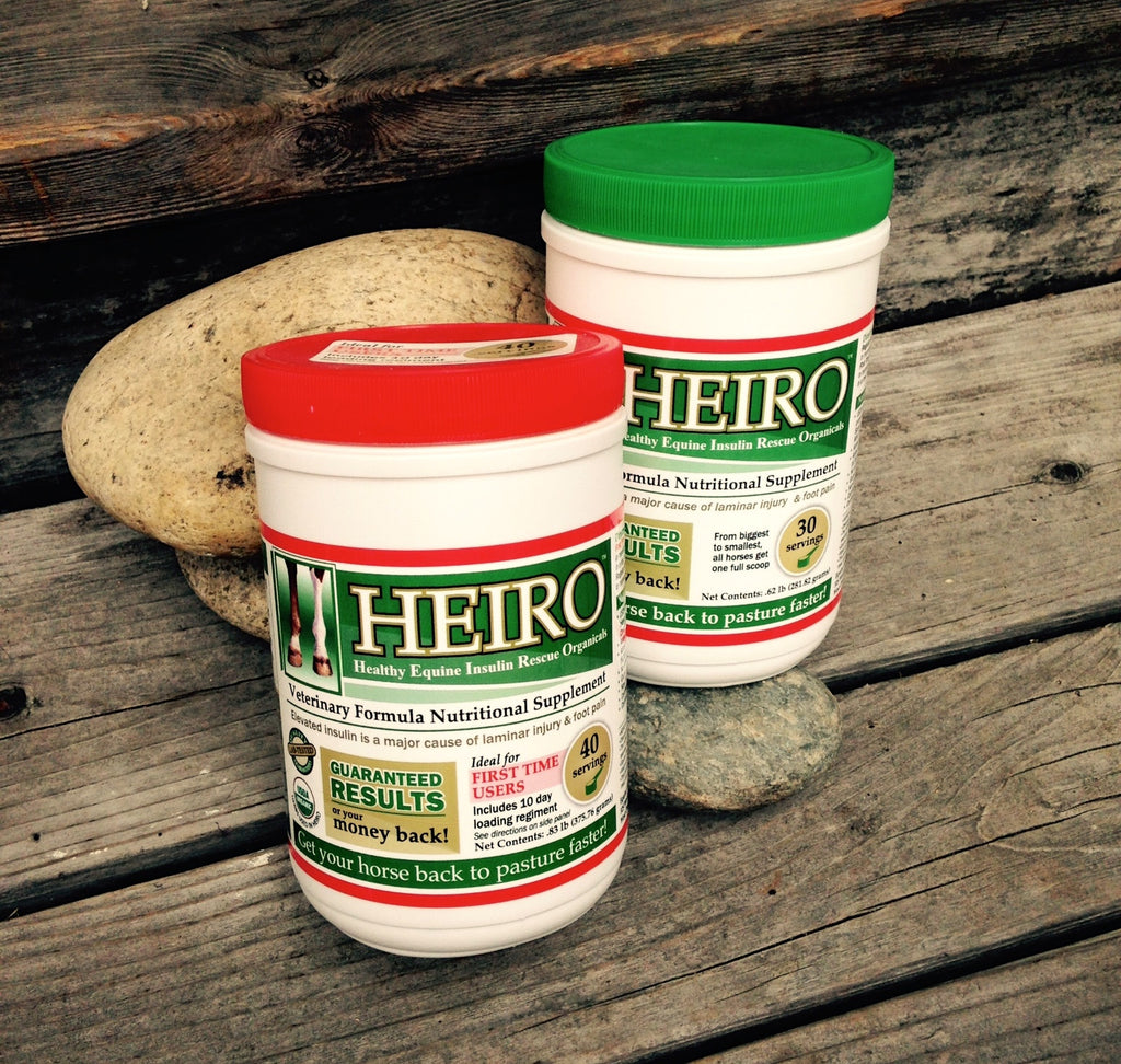 HEIRO- Natural Equine metabolic supplement from Whole Equine