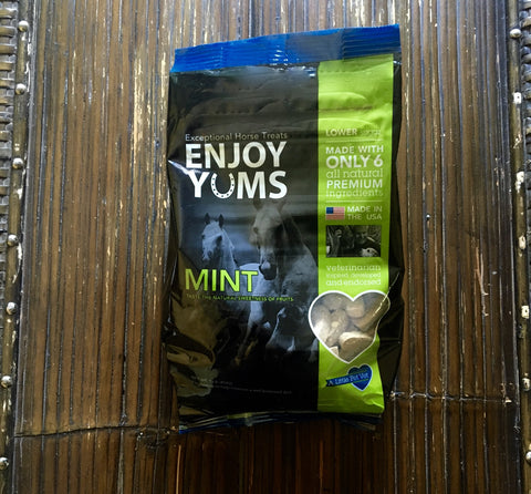Enjoy Yums Horse Treats- Mint, Lower Sugar