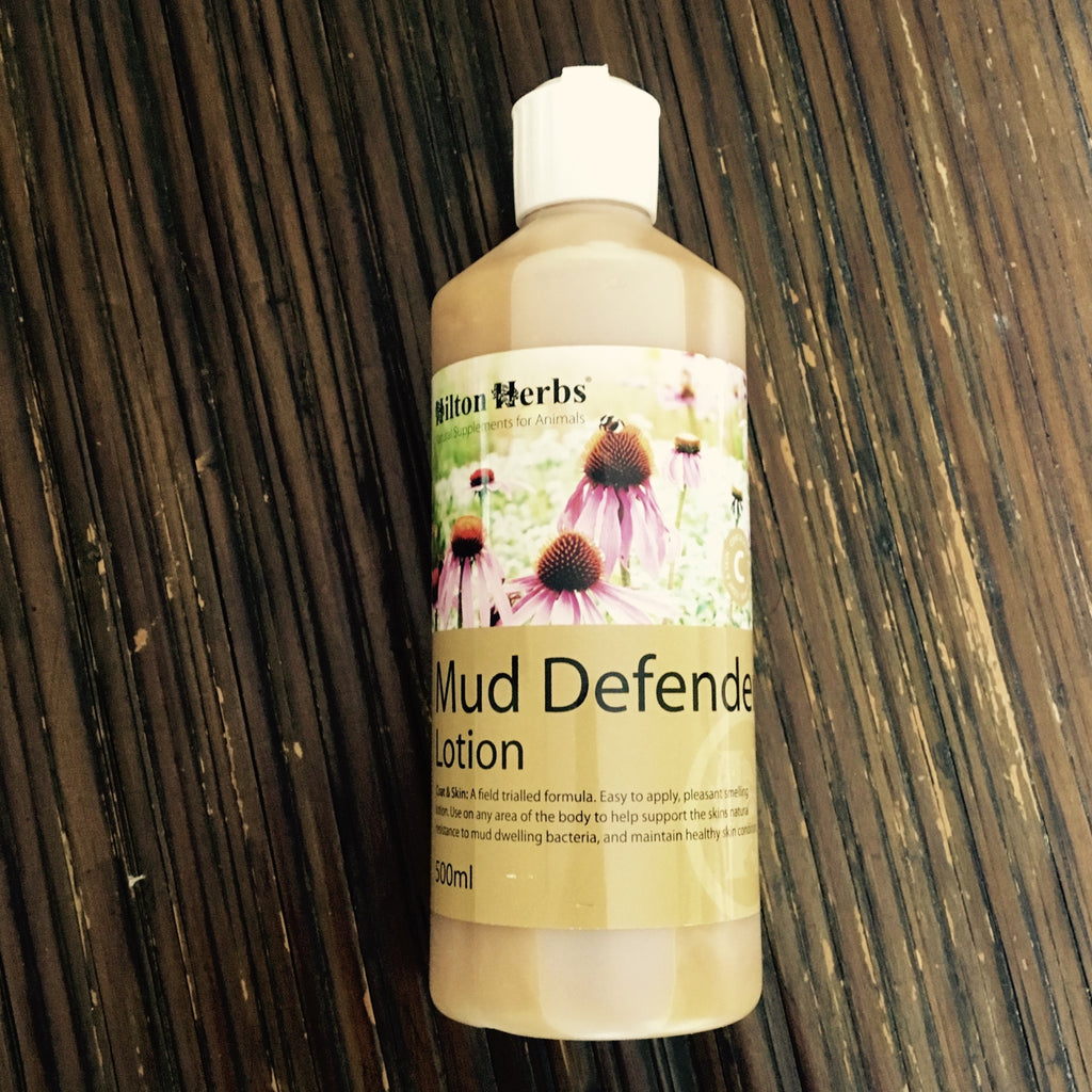 Mud Defender Lotion- Natural Horse Care Hilton Herbs