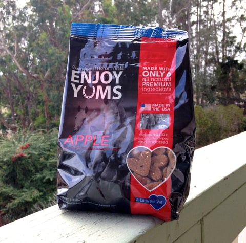 Enjoy Yums Horse Treats- Apple