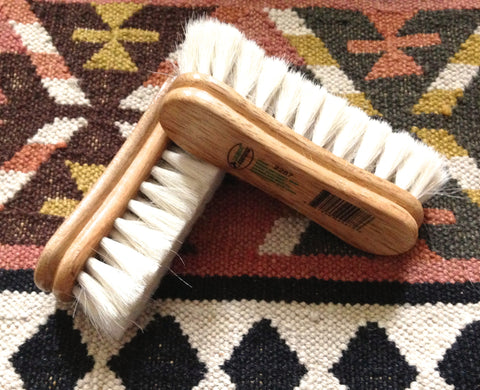 Desert Equestrian Face Brush- Goat Hair