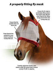 Supermask No Ears Natural Horse Care Whole Equine