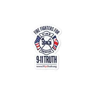 Standard FF911Truth Logo Sticker