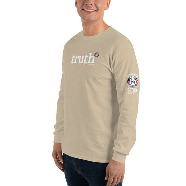 "Men's Long Sleeve ""truth"" Shirt (logo left sleeve)"
