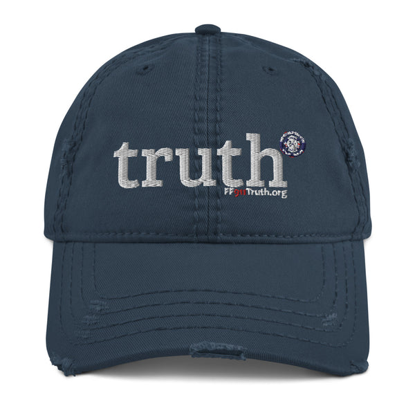 Distressed Truth-cap
