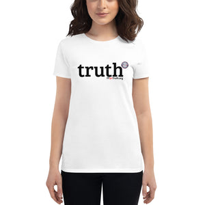 Women's truth-shirt - dark logo