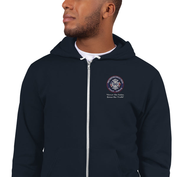 Embroidered Hoodie sweater (USA spelling)
