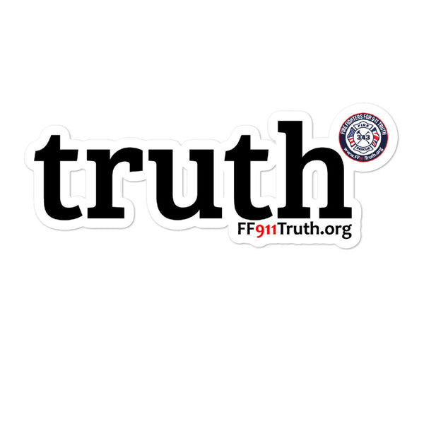 "FF911""truth"" sticker"