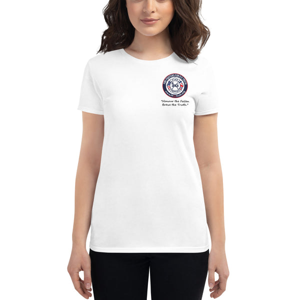 Women's Honour the Fallen Logo - Front only (UK spelling)