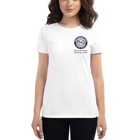 Women's Honor the Fallen Logo - front only (USA spelling)