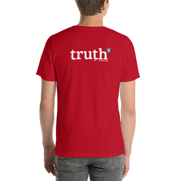 "Round Logo Front, ""truth"" Back Logo - Darker options (UK spelling)"