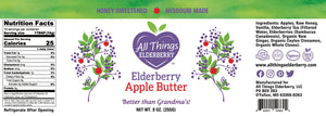 Elderberry Apple Butter
