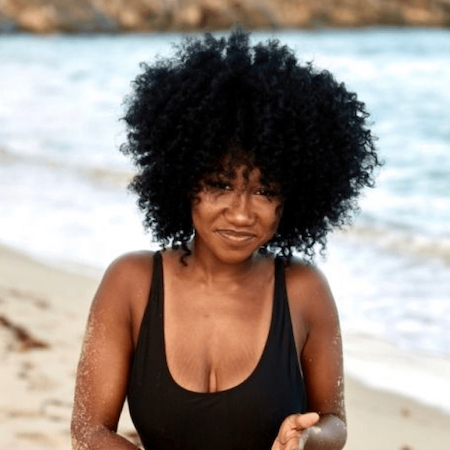 Swimming with Crochet Braids