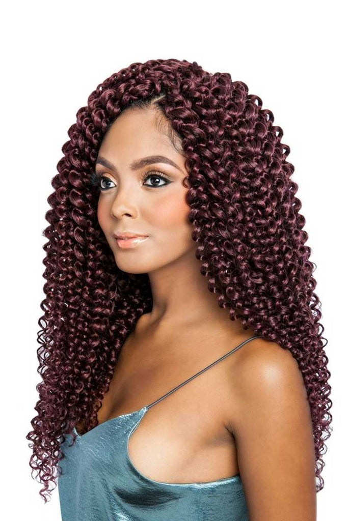 Mane Concept Afri-Naptural Caribbean Pre-Stretched Synthetic Crochet Braiding Hair Bouncy Spring