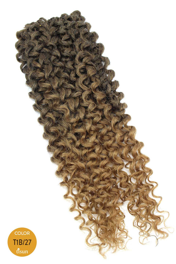 Mane Concept Afri-Naptural Caribbean Pre-Stretched Crochet Bouncy Spring Color T1B/27