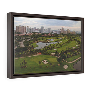 White Sand Course Premium Canvas