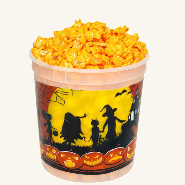 Johnson's Popcorn Small Halloween Tub-Cheddar Cheese