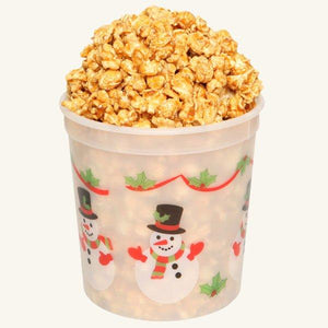 Johnson's Popcorn Small Happy Holidays Tub-Caramel