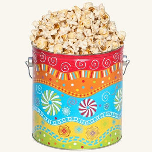 Johnson's Popcorn 1 Gallon Panache Tin-Butter