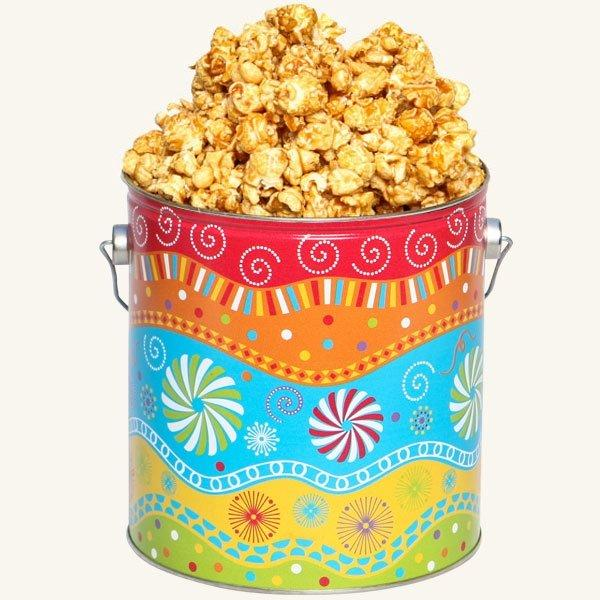 Johnson's Popcorn 1 Gallon Panache Tin-Caramel