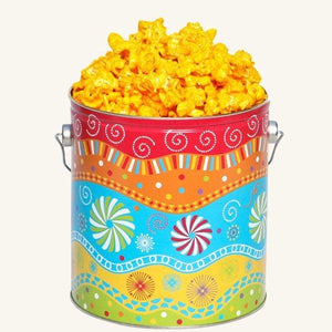 Johnson's Popcorn 1 Gallon Panache Tin-Cheddar Cheese