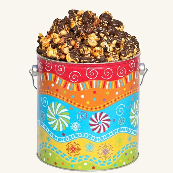 Johnson's Popcorn 1 Gallon Panache Tin