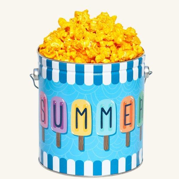 Johnson's Popcorn 1 Gallon Summer Fun Tin-Cheddar Cheese